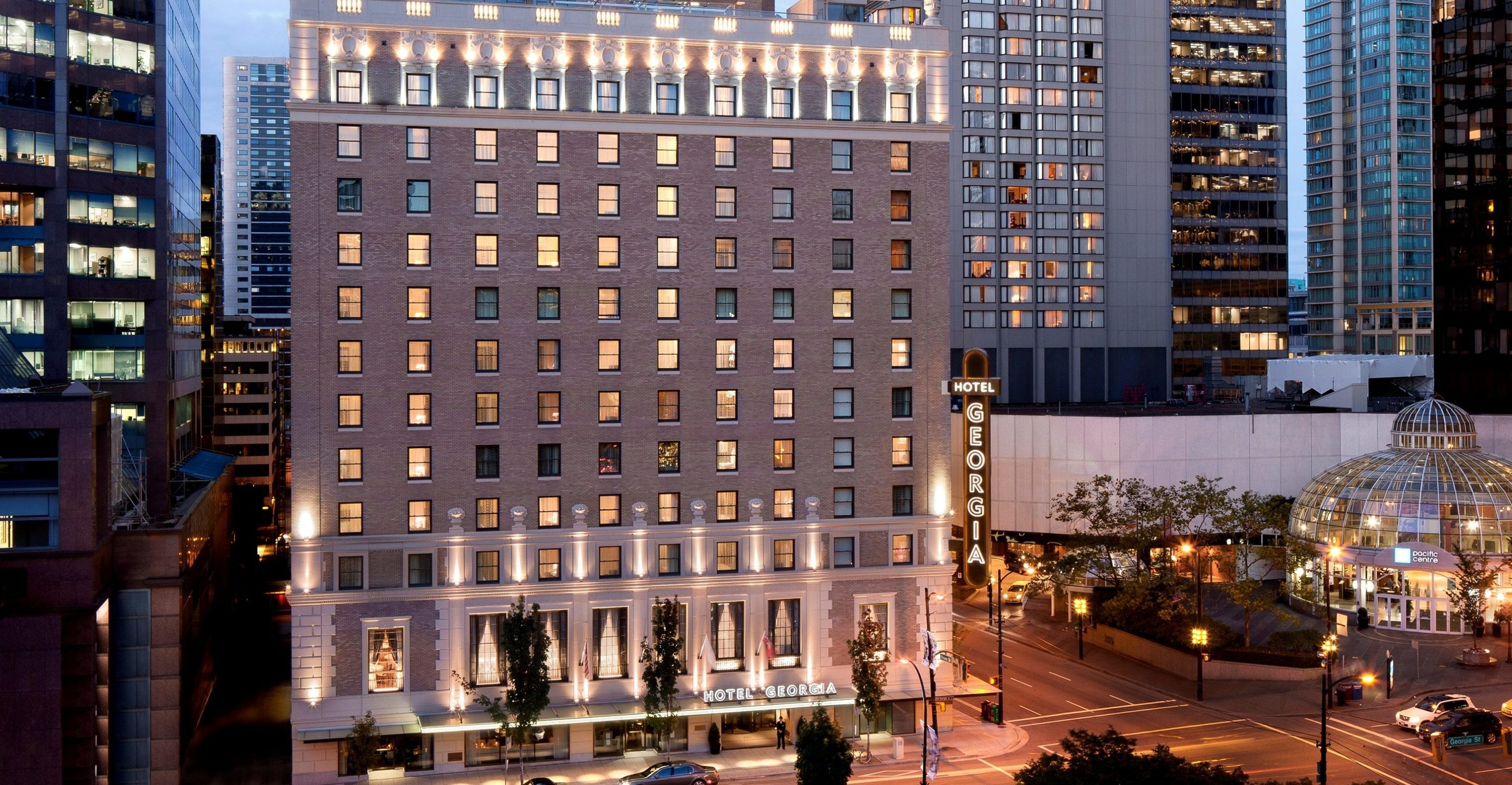 Rosewood Hotel Georgia in Vancouver, BC